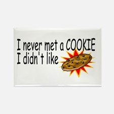 I Never Met A Cookie I Didn't Like Rectangle Magne
