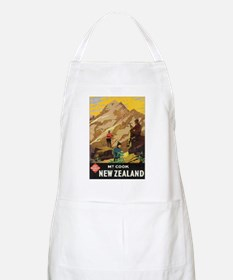 Mount Cook New Zealand BBQ Apron
