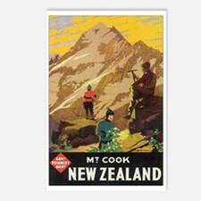 Mount Cook New Zealand Postcards (Package of 8)