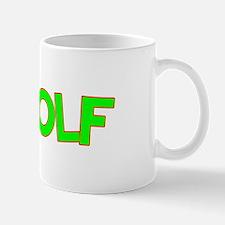 I Love-Alien Golf Mug