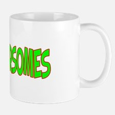 I Love-Alien Foursomes Mug