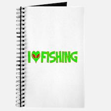I Love-Alien Fishing Journal