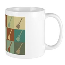 Guitar Pop Art Mug