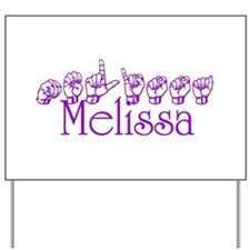 Melissa-prpl Yard Sign