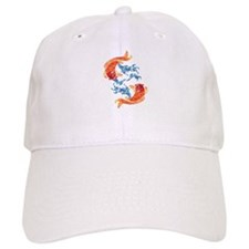 **NEW**KOI Tattoo** Baseball Cap