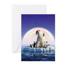 Penguin Pals 5 Greeting Cards (Pk of 20)
