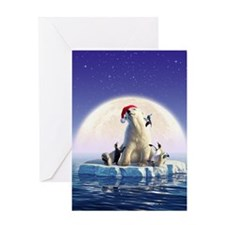 Penguin Pals 5 Greeting Card