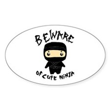 Cute Ninja Decal
