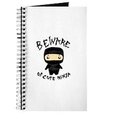 Cute Ninja Journal
