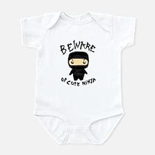 Cute Ninja Infant Bodysuit