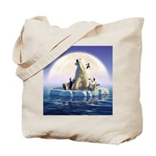 Penguin Pals 6 Tote Bag