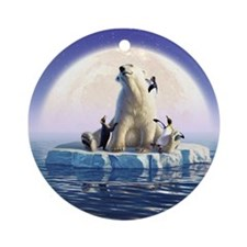 Penguin Pals 6 Ornament (Round)