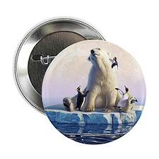"""Penguin Pals 6 2.25"""" Button"""
