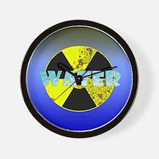 Urban Nuclear Water Wall Clock