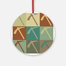 Geology Pop Art Ornament (Round)