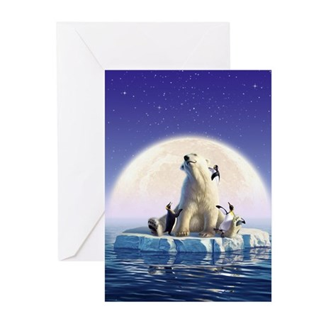 Penguin Pals 6 Greeting Cards (Pk of 20)
