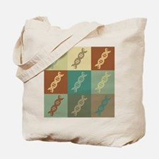 Genetics Pop Art Tote Bag
