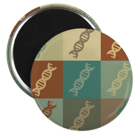 "Genetics Pop Art 2.25"" Magnet (10 pack)"