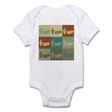 Funerals Pop Art Infant Bodysuit