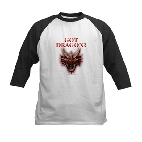 Got Dragon? Kids Baseball Jersey