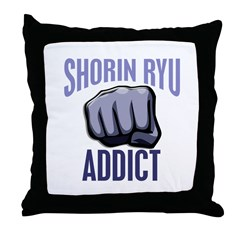 Shorin Ryu Addict Throw Pillow