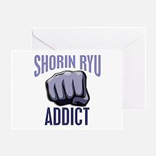 Shorin Ryu Addict Greeting Card