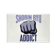 Shorin Ryu Addict Rectangle Magnet (10 pack)