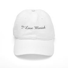 I Love Moriah Baseball Cap