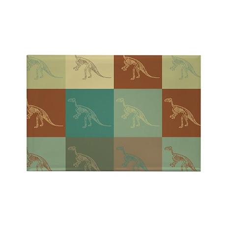 Fossils Pop Art Rectangle Magnet (10 pack)