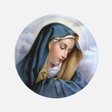 """Our Lady of Sorrows 3.5"""" Button"""