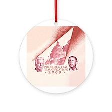 Inaugural Capitol Ornament (Round)