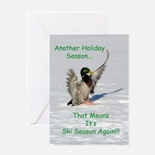 Cute Duck greeting Greeting Card