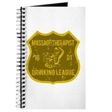 Massage Therapist Drinking League Journal