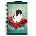 Rabbit in Poinsettia Journal