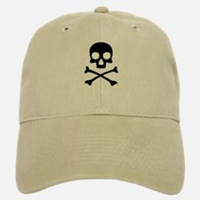 Skull & Crossbones Cotton Baseball Baseball Cap