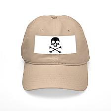 Skull & Crossbones Cotton Baseball Cap