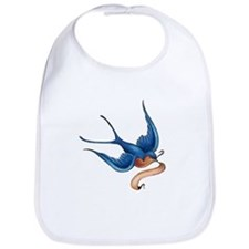 Tattoo Swallow Bib