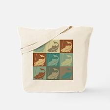 Fishing Pop Art Tote Bag