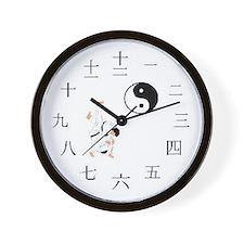 Judo/Jujitsu Wall Clock
