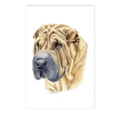 Shar-Pei Postcards (Package of 8)