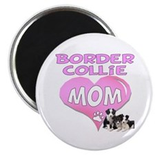 "Border Collie Mom-3 2.25"" Magnet (10 pack)"