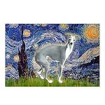 Starry Night/Italian Greyhoun Postcards (Package o