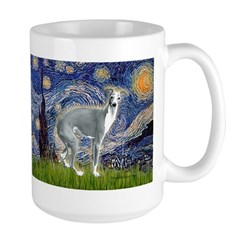 Starry Night/Italian Greyhoun Mug