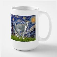 Starry Night/Italian Greyhoun Mug