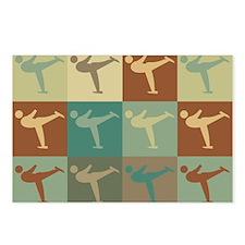 Figure Skating Pop Art Postcards (Package of 8)