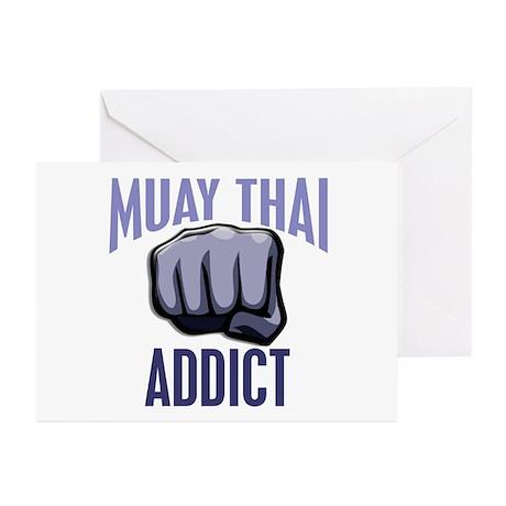 Muay Thai Addict Greeting Cards (Pk of 10)