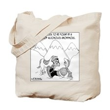 Alcoholics Anonymous' St. Bernard Tote Bag
