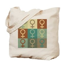 Feminism Pop Art Tote Bag