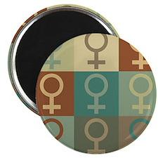 Feminism Pop Art Magnet