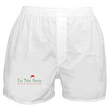 I'm Not Santa Boxer Shorts